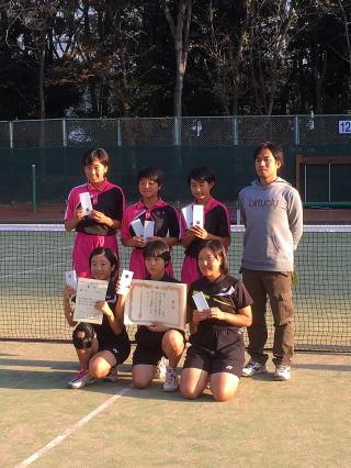 ソフトテニス 東京 都 中体連